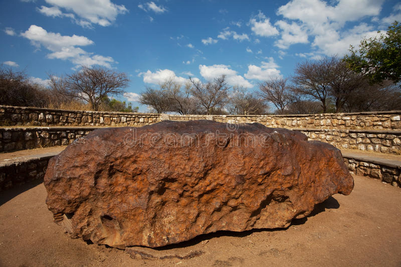 meteorite royaltyfri bild