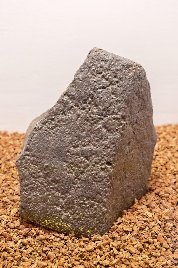 Meteorite royalty free stock image