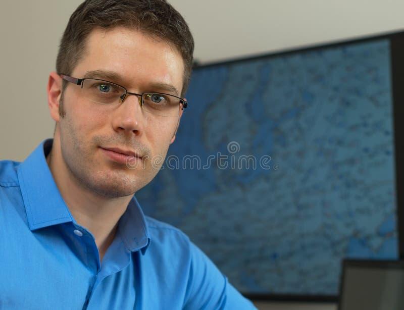 meteorolog royaltyfria bilder