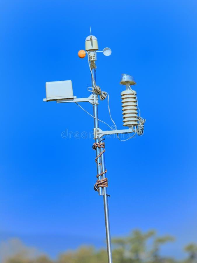 Meteorological apparater posterar. royaltyfri bild