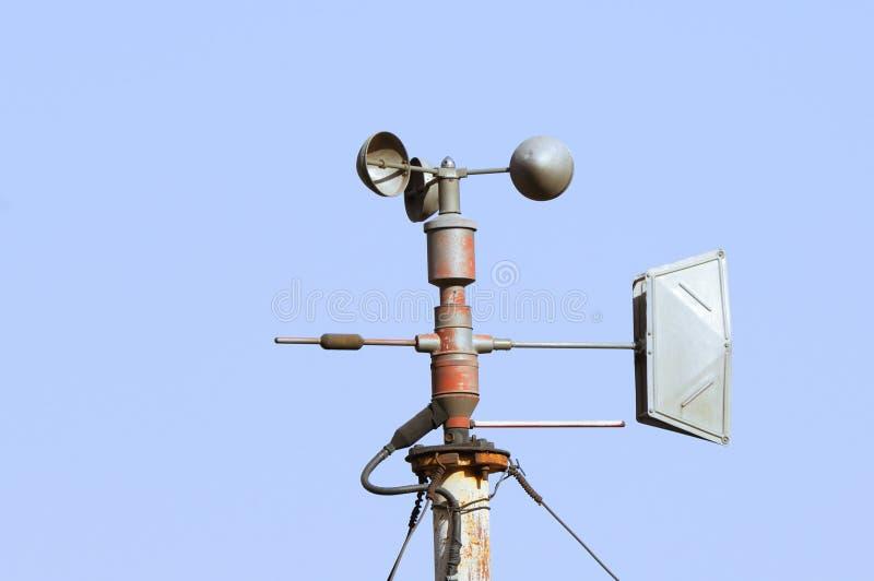 meteorological avkännare arkivfoto