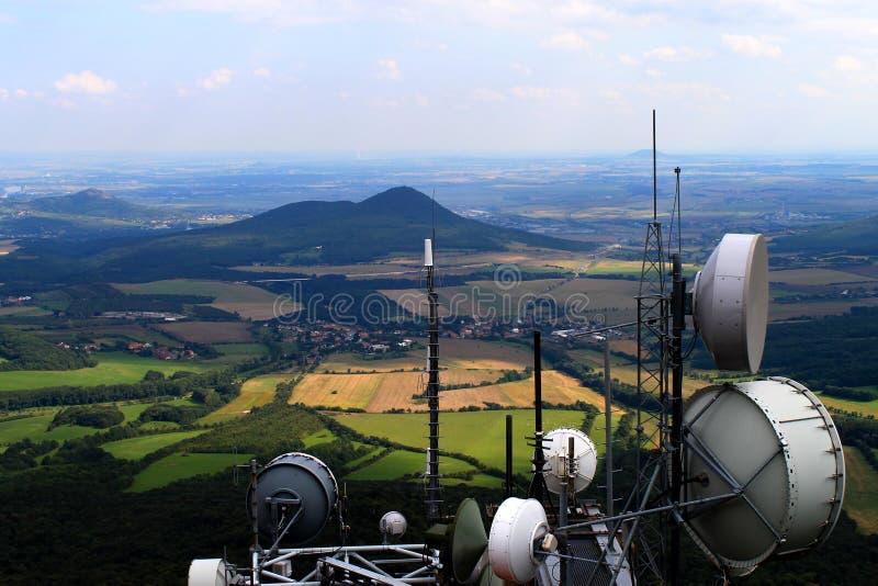 meteorological milesovkasatelliter fotografering för bildbyråer