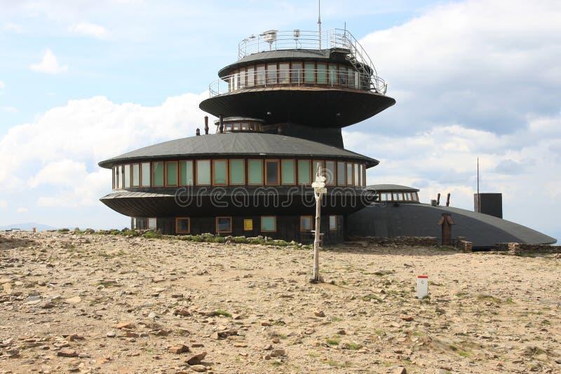 meteorological observatorium arkivfoton