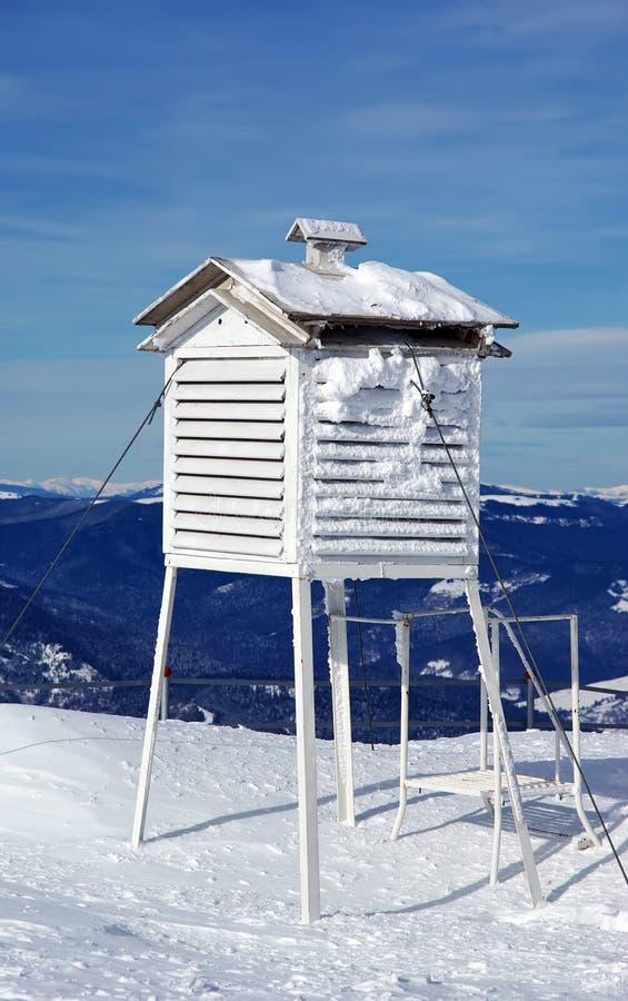 meteorological station arkivfoton