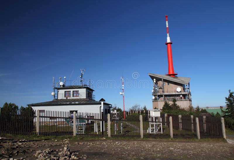 Meteorological station royaltyfria bilder
