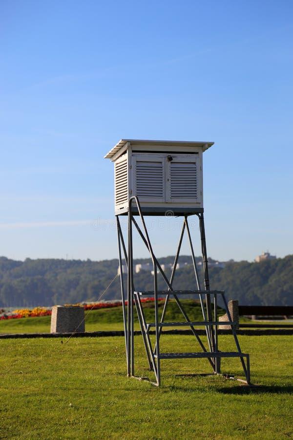 Meteorological station fotografering för bildbyråer