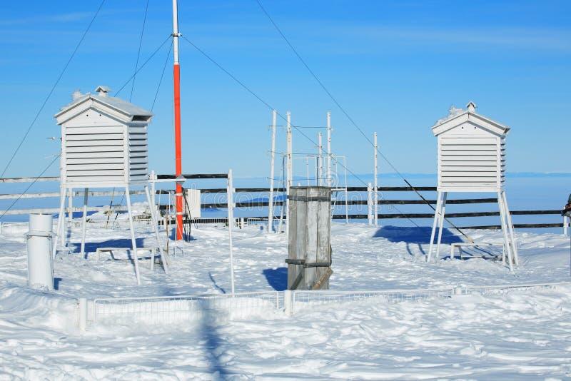 meteorological station royaltyfri bild