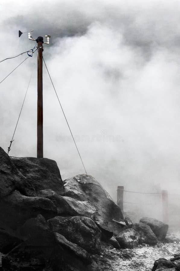 meteorological station för mast royaltyfri fotografi