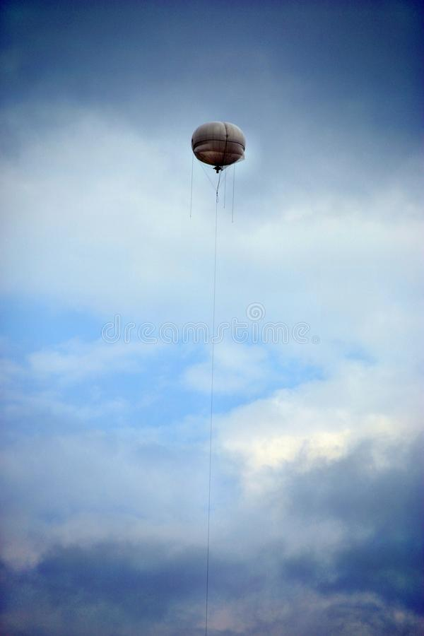 Meteorologischer Ballon stockbild