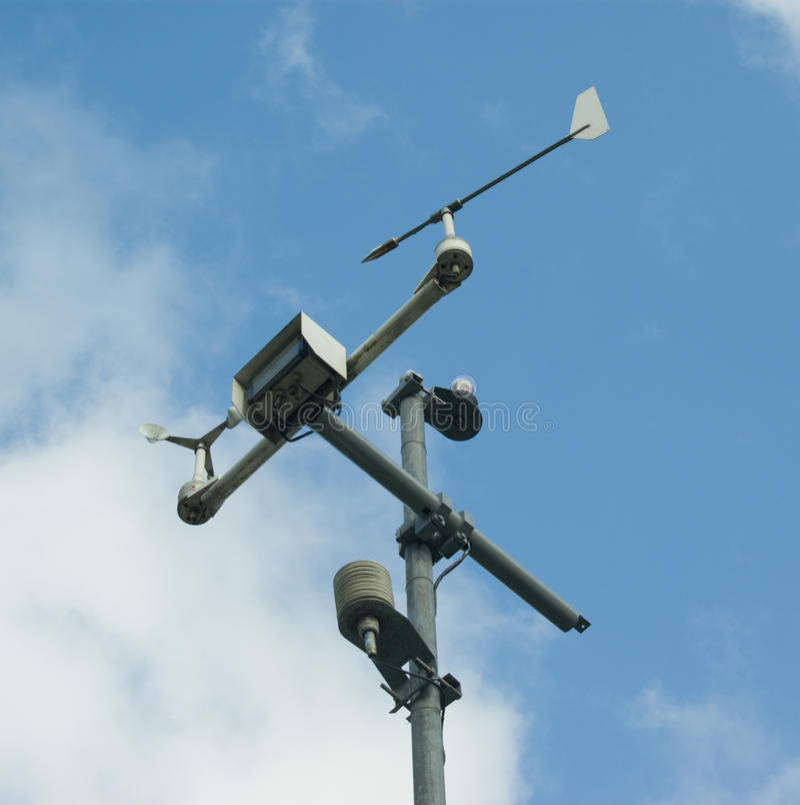 meteorology royaltyfri fotografi