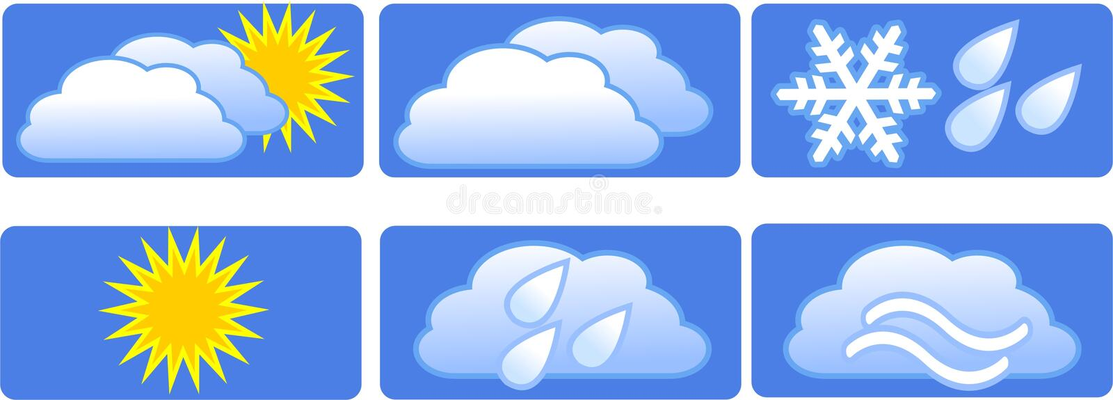 Download Meteorology. stock vector. Illustration of climate, series - 14851113