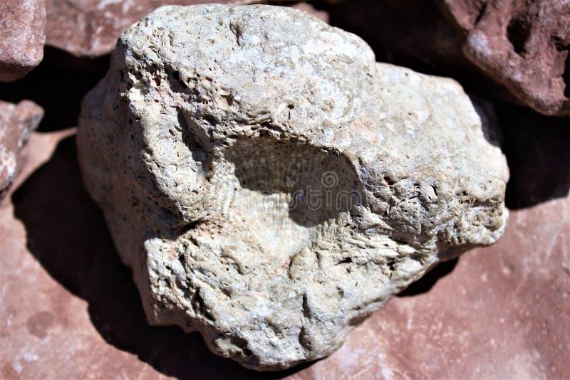 Meteorowy krater fotografia stock