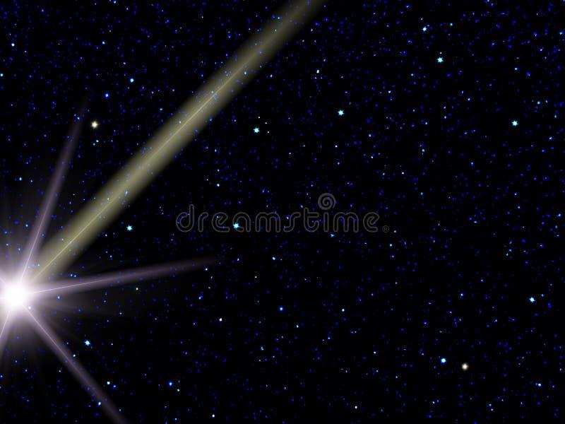 meteorskystjärnor fotografering för bildbyråer