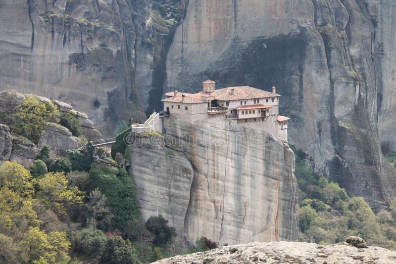 Meteoru monaster w Grecja, cud obrazy royalty free