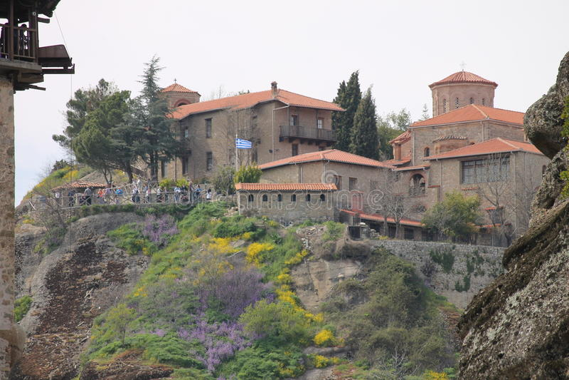 Meteoru monaster w Grecja, cud zdjęcia stock