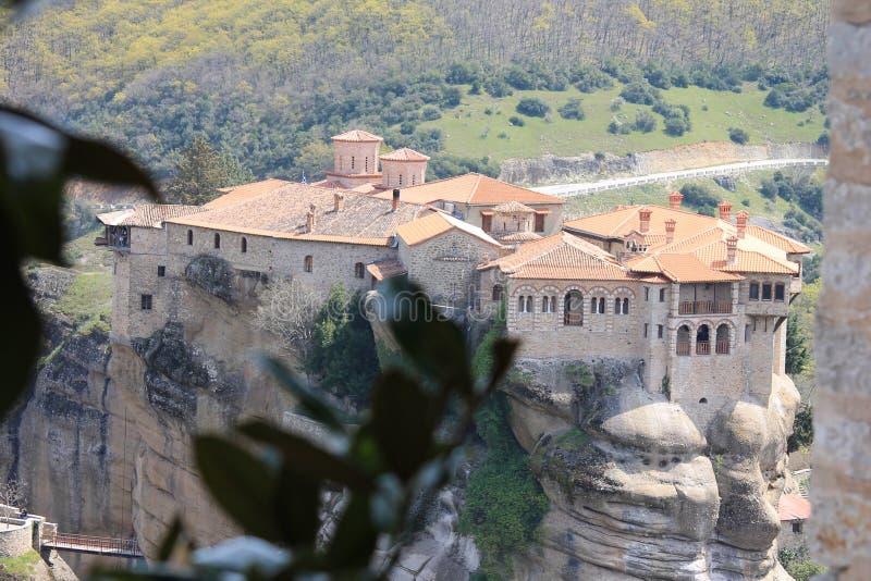 Meteoru monaster w Grecja, cud obrazy stock
