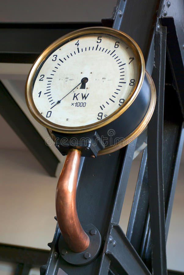 Download Meter display stock image. Image of metal, house, analog - 16335557