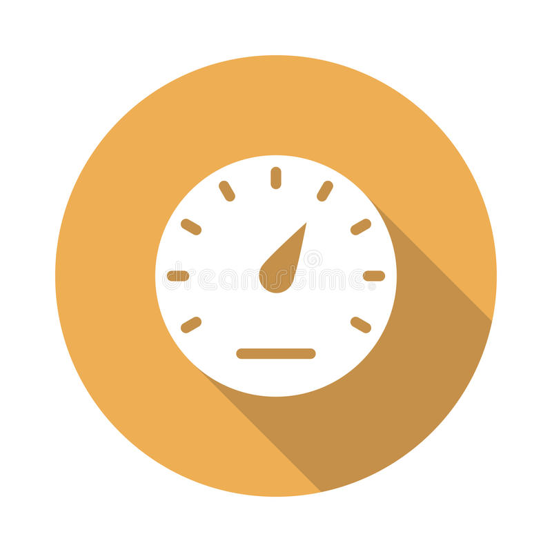 Meter icon stock illustration