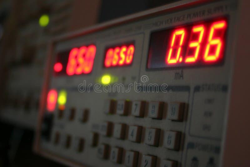 Metering device stock image