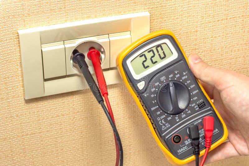 Download Metering socket voltage stock image. Image of jack, measuring - 33946347