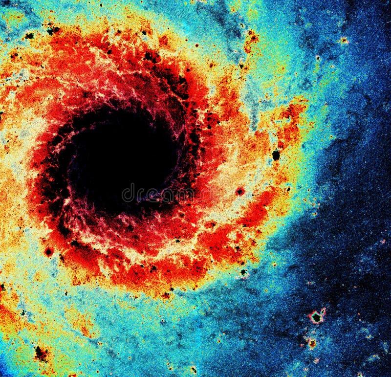 Meterological Universele Orkaan Spiraalvormige Nevel verbeterde de Elementen van het Heelalbeeld van NASA/ESO | Melkweg Achtergro royalty-vrije stock afbeeldingen