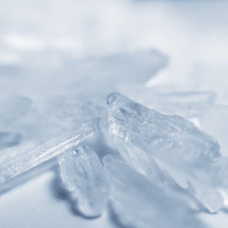 Meth de cristal de Methamphetamine image libre de droits