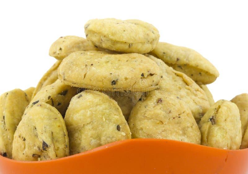 Methi Vada. Indian traditional Street food methi vadi royalty free stock photo