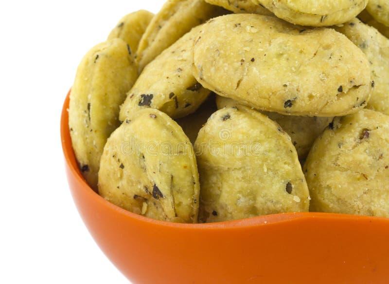 Methi Vada. Indian traditional Street food methi vadi royalty free stock image