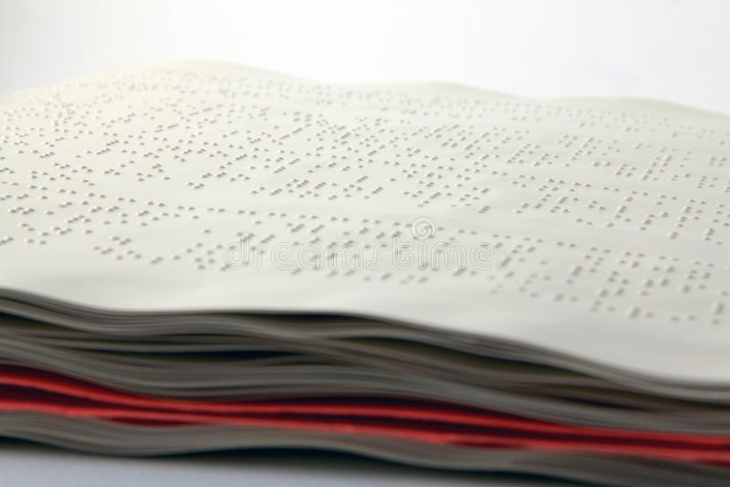 Methode Braille stock fotografie