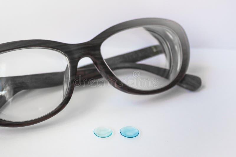 Methoden der Visionskorrektur stockfoto