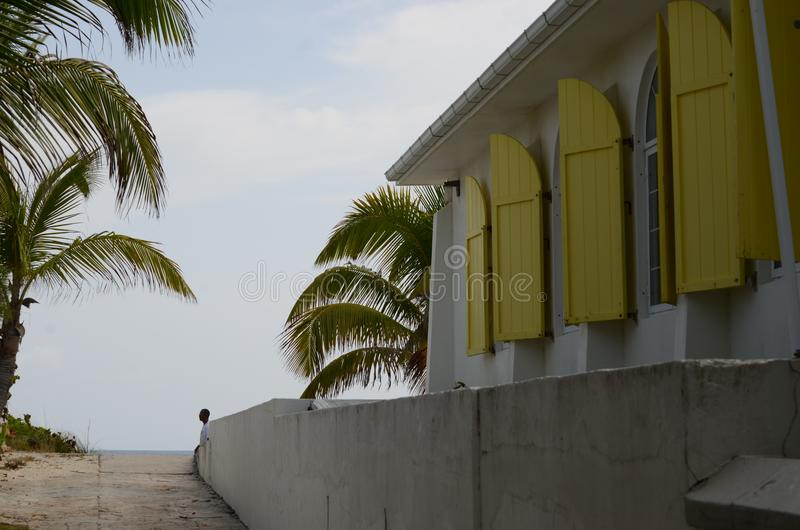 Methodist kerk op de mooie Atlantische Oceaan in Hoopstad stock foto's
