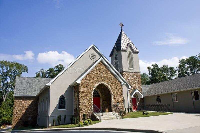 Methodist Kerk van de steen royalty-vrije stock afbeeldingen