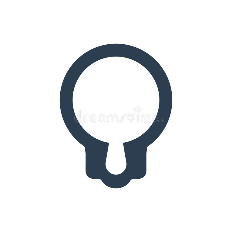 Search Seo Solution Icon stock illustration