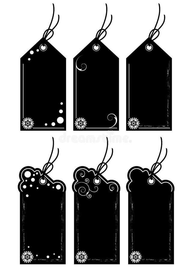Metki czarny Piątek royalty ilustracja