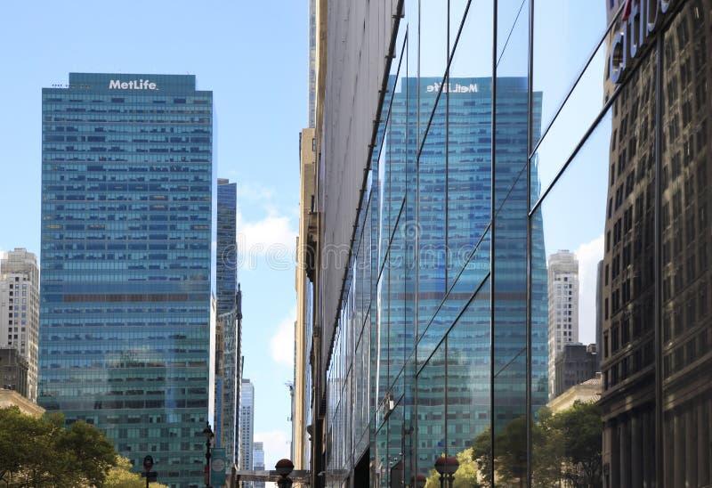 MetLife budynek obraz stock