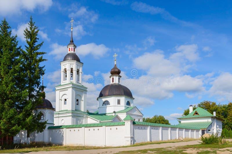 Metochion Michael Archangel Church, pueblo de los obispos de Lazarevo foto de archivo