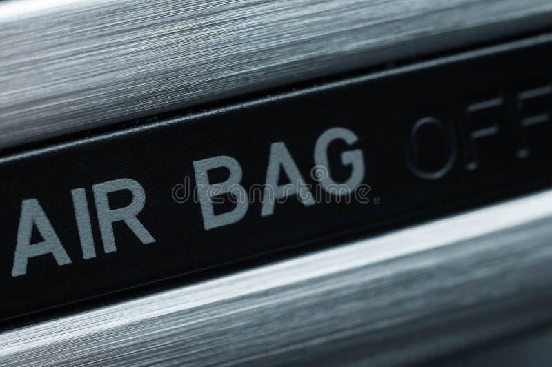 Metodi per aumentare sicurezza di veicolo installando gli airbag fotografie stock libere da diritti