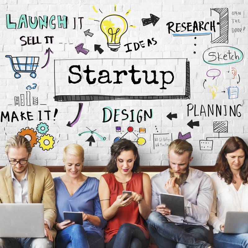 Metody strategii obieg postępu Biznesowy pojęcie obraz stock