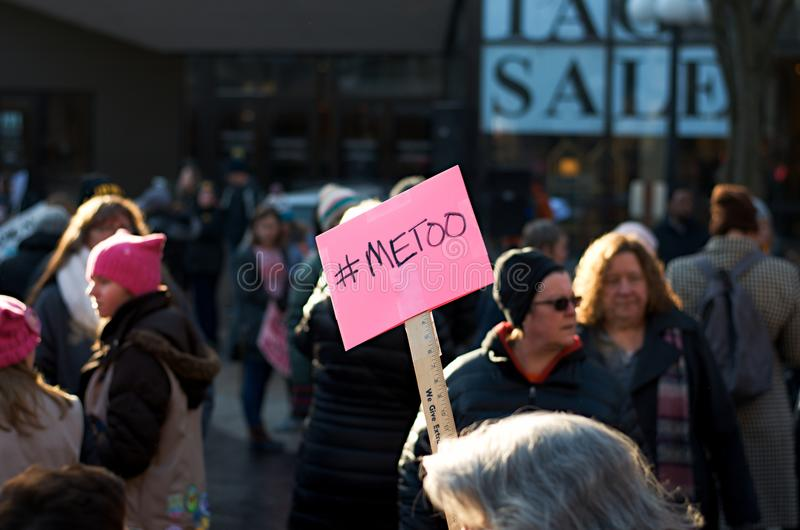 #Metoo stock foto