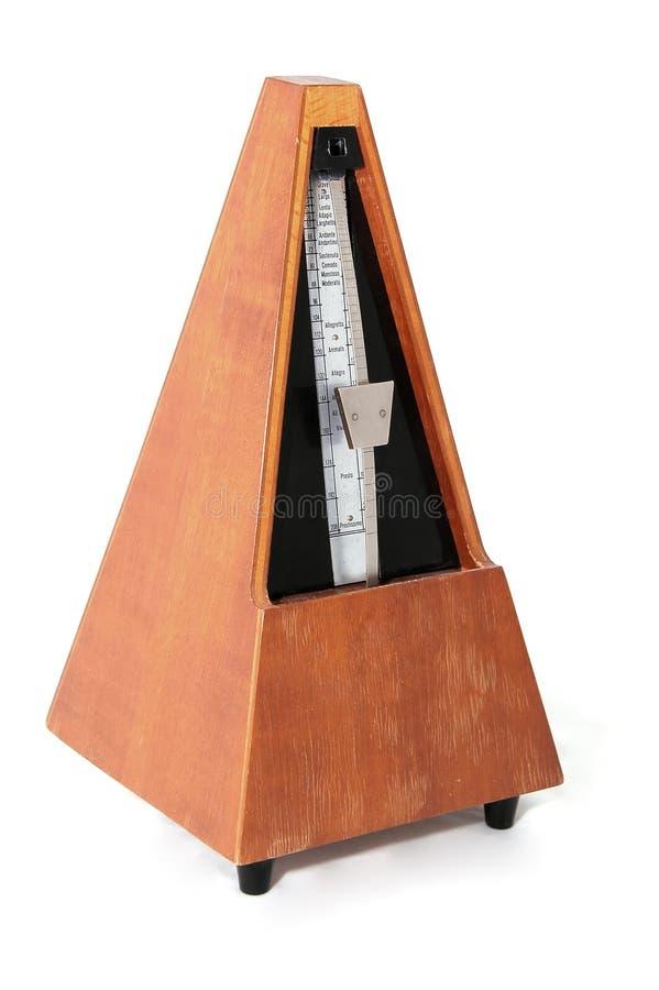 Metrónomo fotografía de archivo