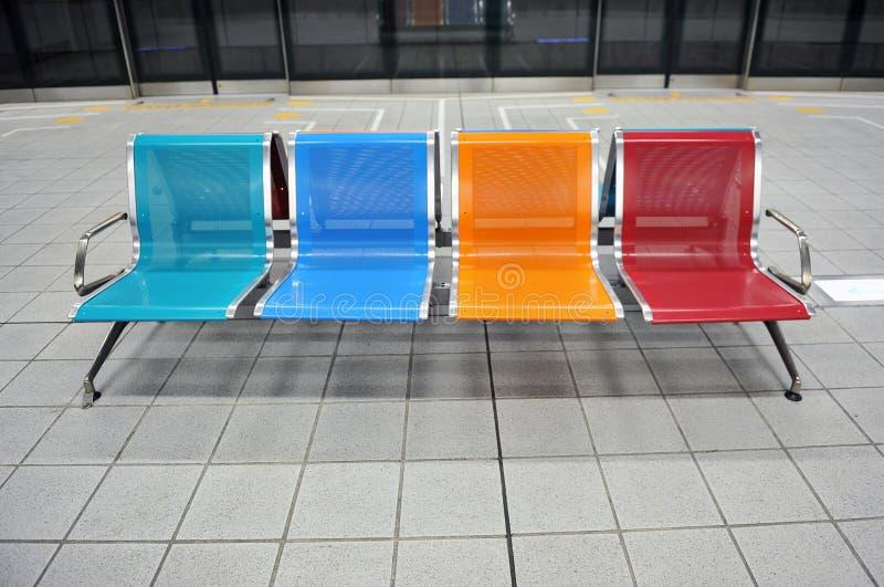 metra czekanie zdjęcia royalty free