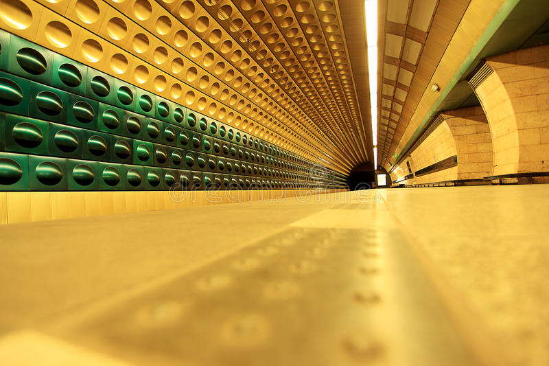metro fotografia stock