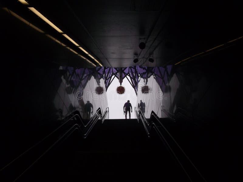 metro arkivfoton
