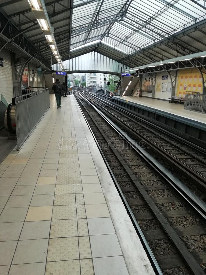 metro imagen de archivo