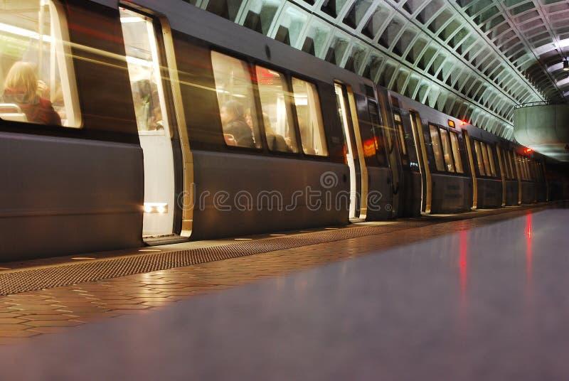 Metro stock afbeelding