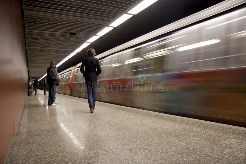 Metro royalty-vrije stock afbeeldingen