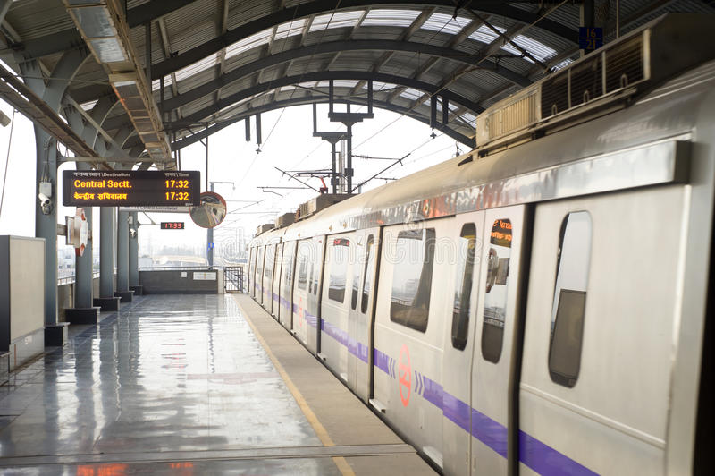 metro royaltyfria bilder