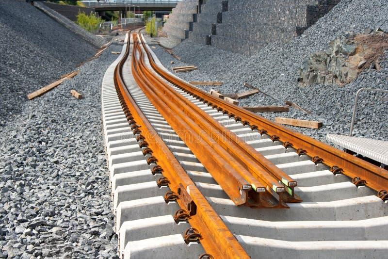 Metro bouwwerf stock afbeeldingen