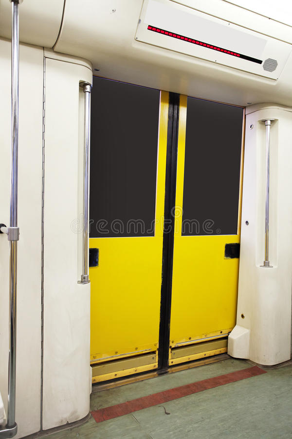 Download Metro carriage stock image. Image of salon, speed, train - 26545645