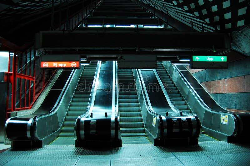 Metro de Éstocolmo imagem de stock royalty free